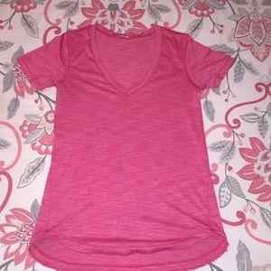 Short sleeve lulu lemon top size 2